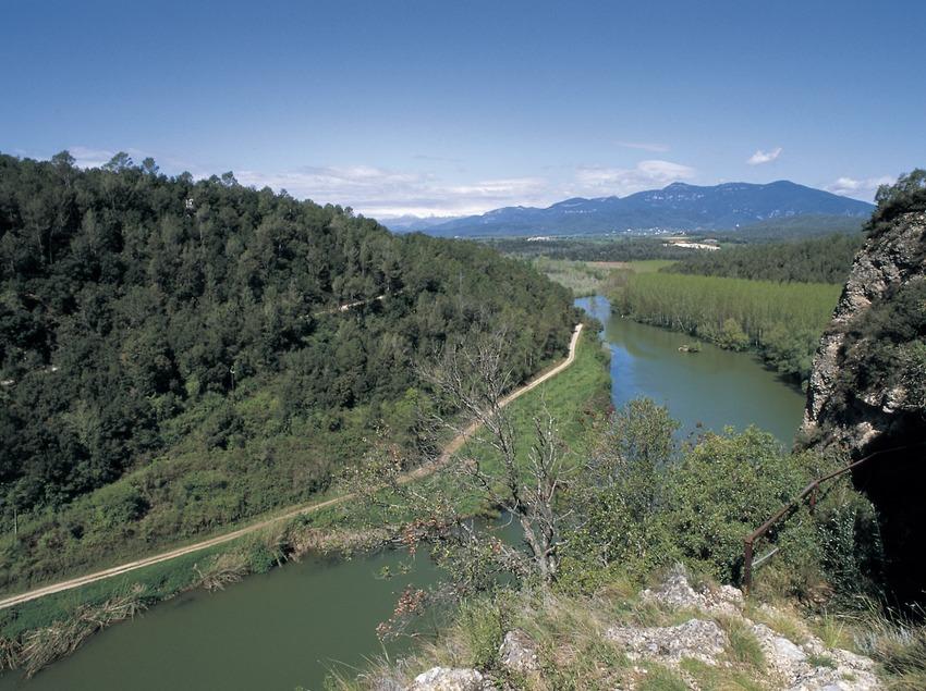 Der Fluss Fluvià.  (Turismo Verde S.L.)