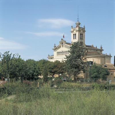 Palau Novella, sede del monasterio budista del Garraf.  (Turismo Verde S.L.)