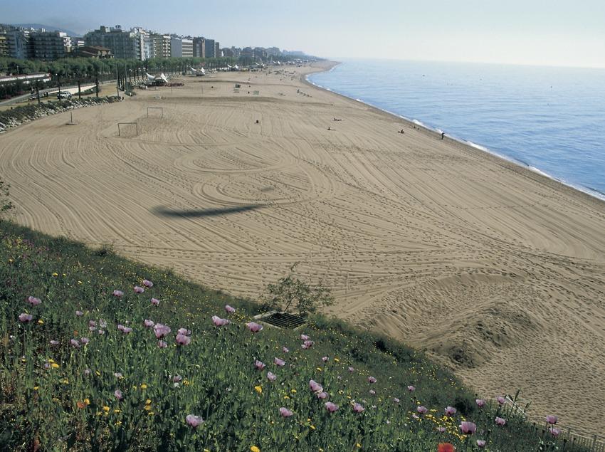 Calella beach.  (Turismo Verde S.L.)