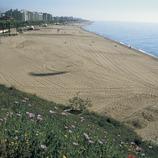 Playa de Calella.  (Turismo Verde S.L.)