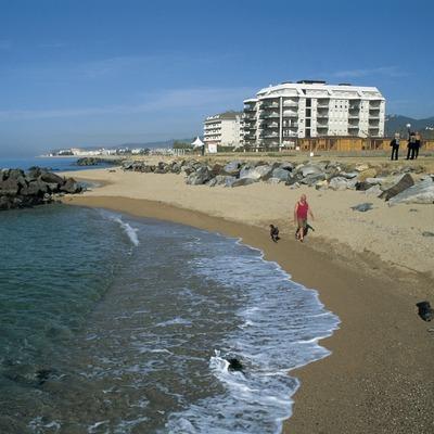 Platja de Pineda de Mar.  (Turismo Verde S.L.)