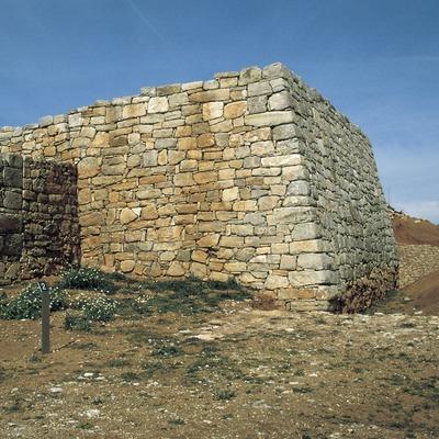 Muralla del poblat ibèric de Montgrós