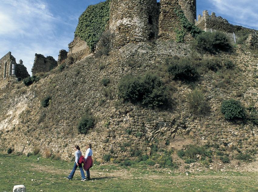 Burg von Montsoriu.
