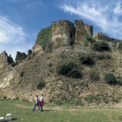 Castillo de Montsoriu.