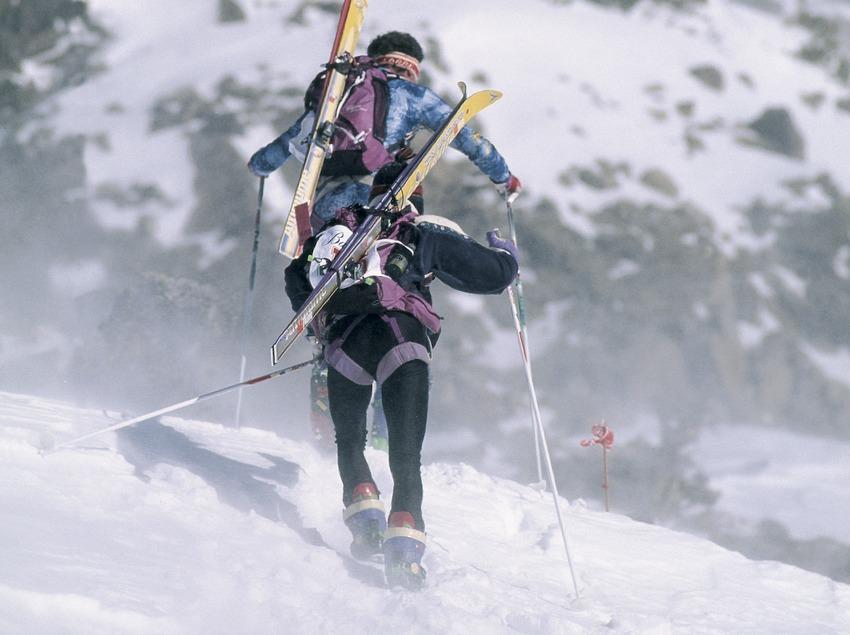 Mountain skiing in Vall de Núria.  (Daniel Julián)