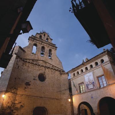 Plaça de l'Ajuntament i església de Sant Joan  (Miguel Raurich)