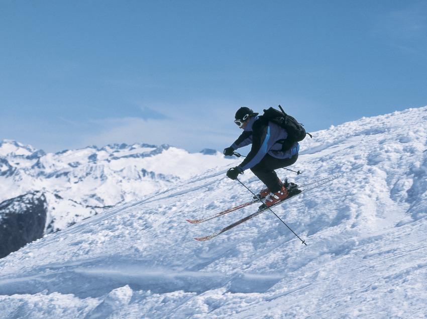 Esquí alpí. Port Ainé.  (Daniel Julián)