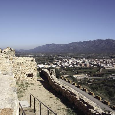 Vista de la localitat des del castell  (Miguel Raurich)