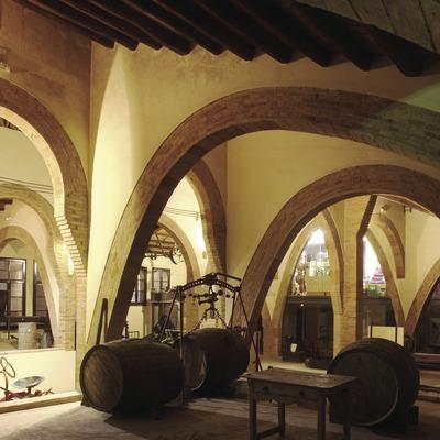 Museu Agrícola, a l'antic celler de la Cooperativa Agrícola