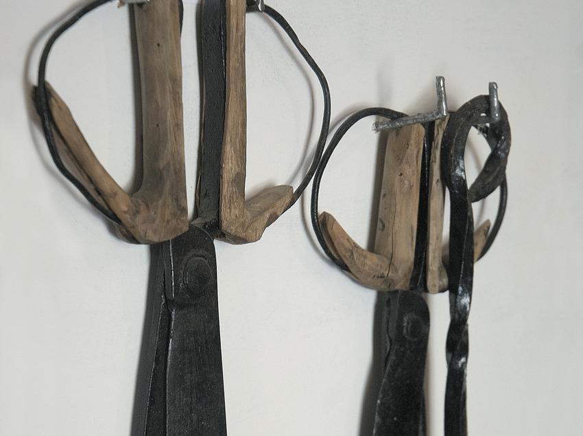 Sheep shearing scissors in the Shepherd Museum  (Servicios Editoriales Georama)