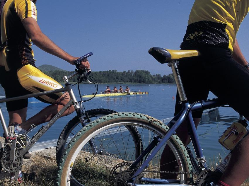Bicicleta de montaña. Centro BTT Banyoles.