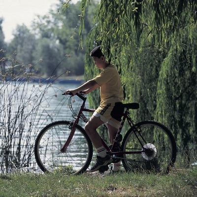 Bicicleta de muntanya. Centre BTT Banyoles.  (Daniel Julián)