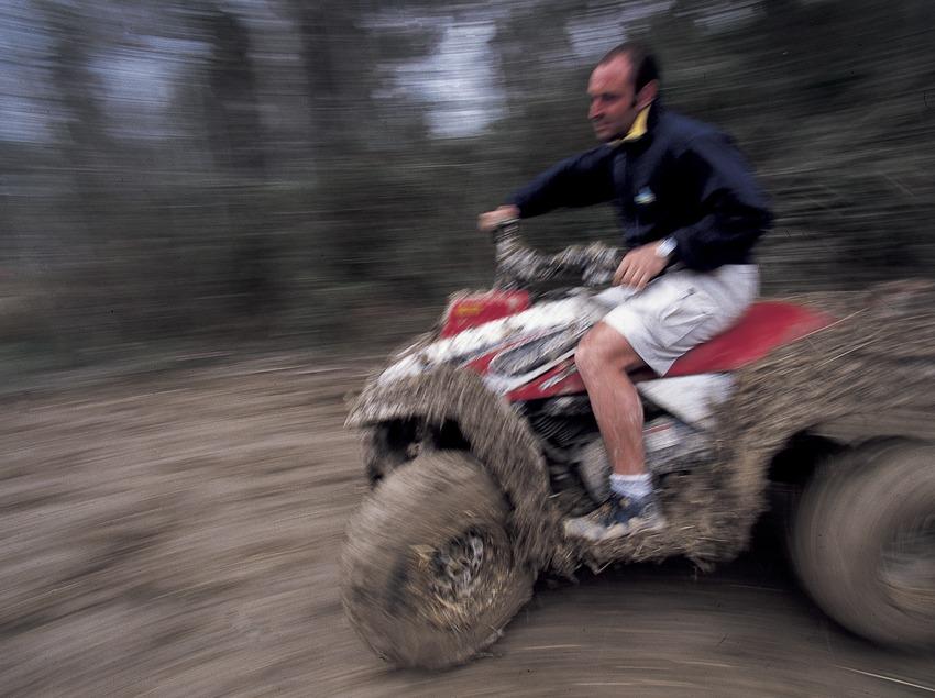 Foire des sports d'aventure. Circuit de quads  (Daniel Julián)