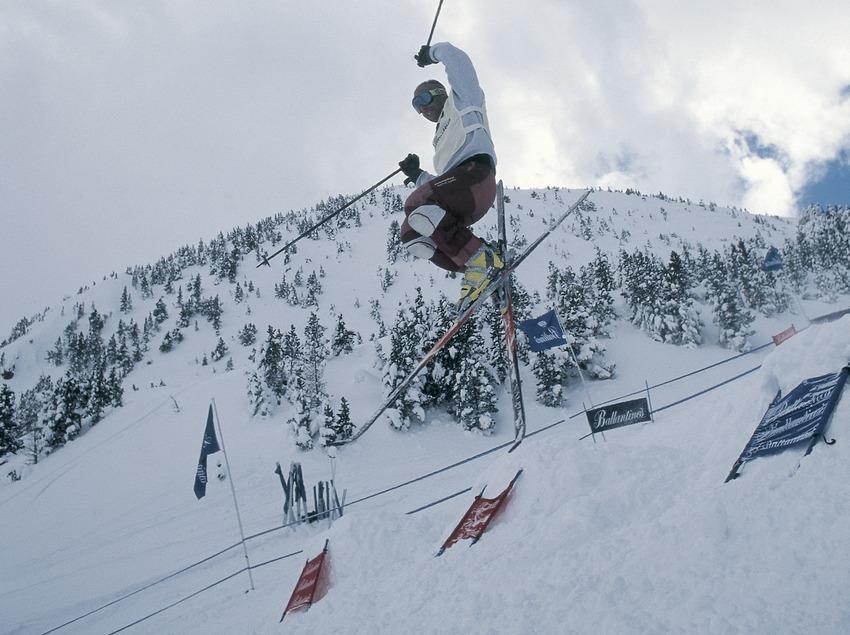 Mogul skiing. La Molina.  (Daniel Julián)