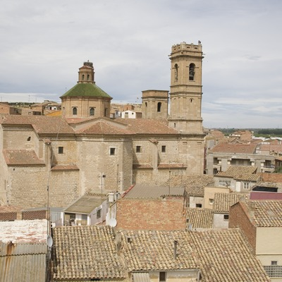 Vista de la localitat i l'església de Sant Antolí  (Miguel Raurich)