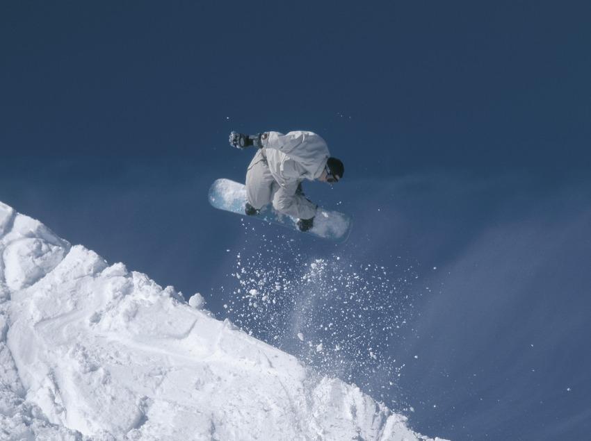 Snowboard. Salts.  (Daniel Julián)