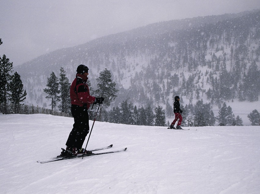 Skier in the Tavascan Ski Resort  (Miguel Raurich)