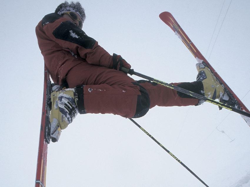 Alpine skiing. Figure.  (Daniel Julián)