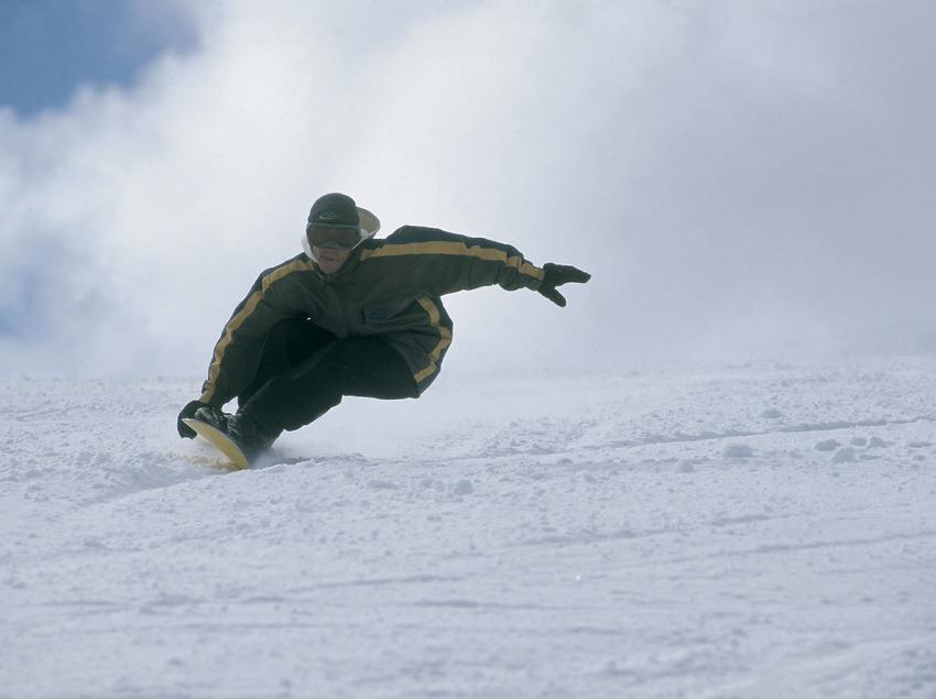 Surf des neiges.  (Daniel Julián)