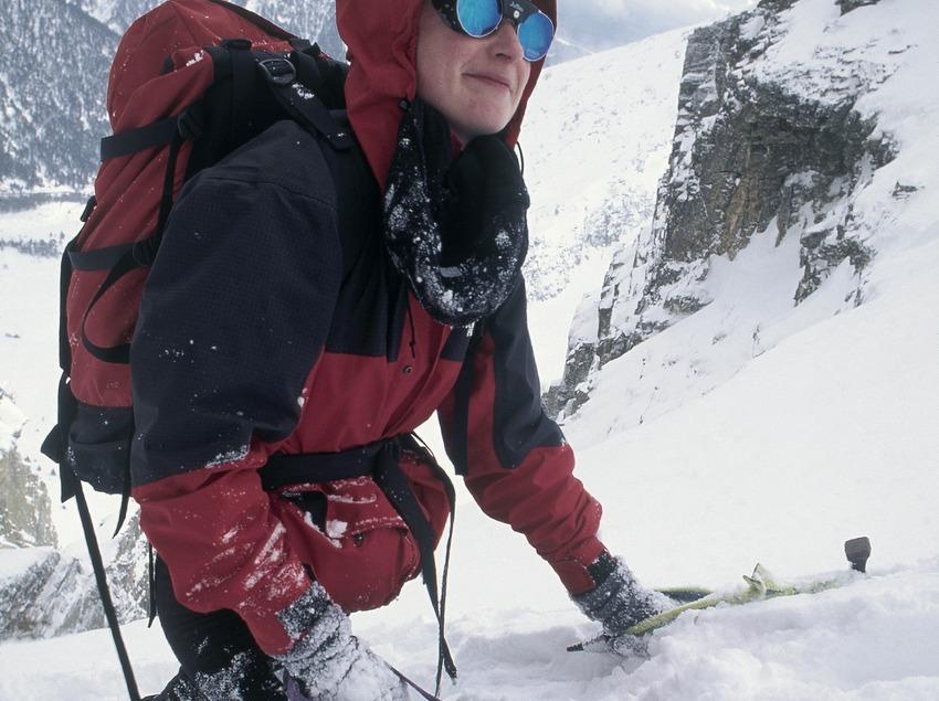 Alpinisme en el Gra de Fajol. Vallter 2000.  (Daniel Julián)