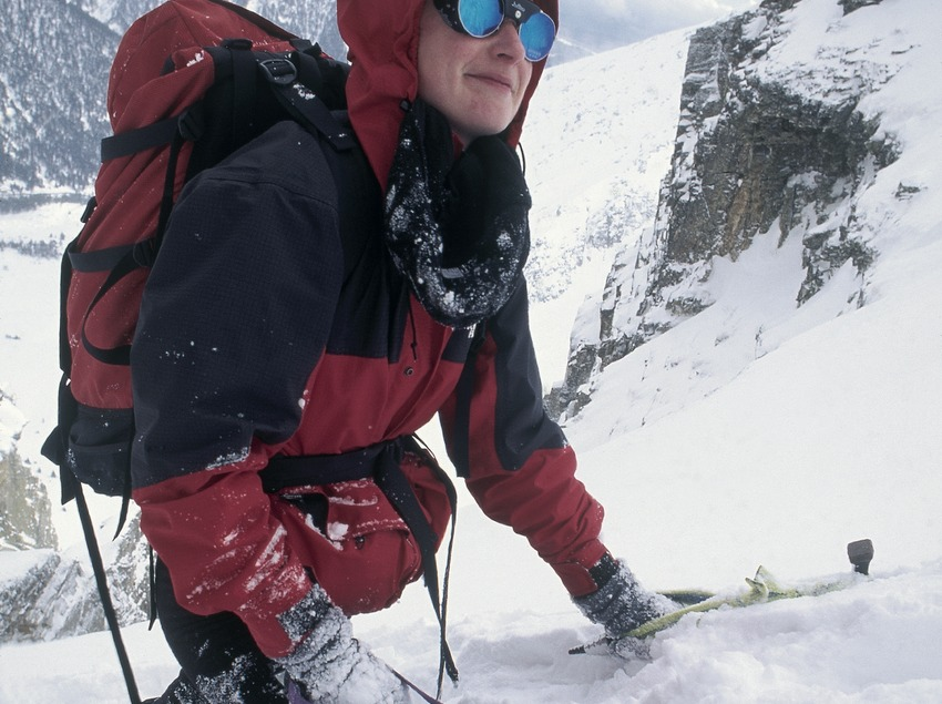 Alpinismo en el Gra de Fajol. Vallter 2000.  (Daniel Julián)