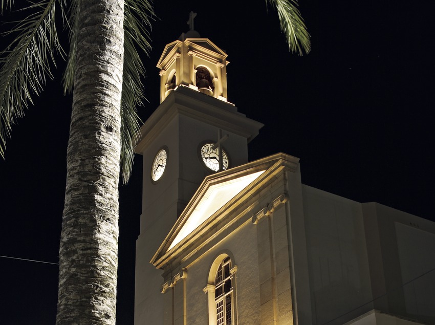 Sant Carles de la Ràpita. Iglesia nueva.  (Miguel Raurich)