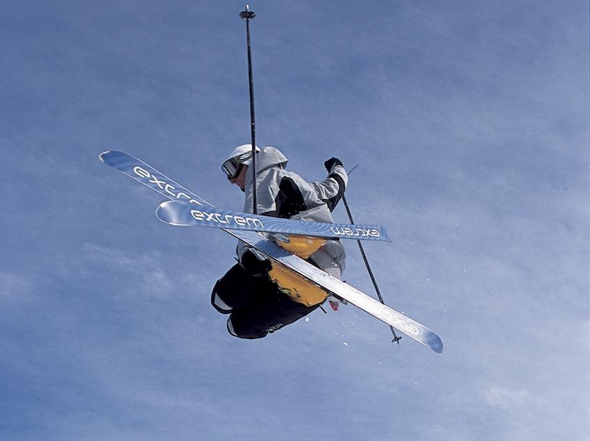 Esquí Free Style.  (Daniel Julián)