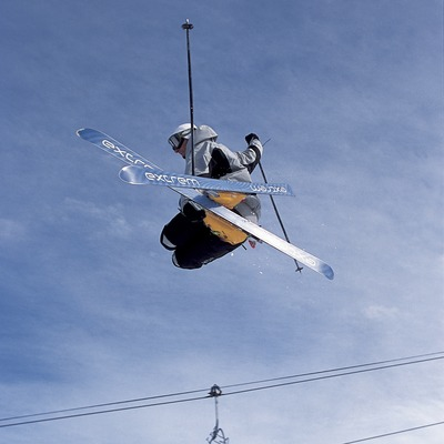 Free Style skiing.