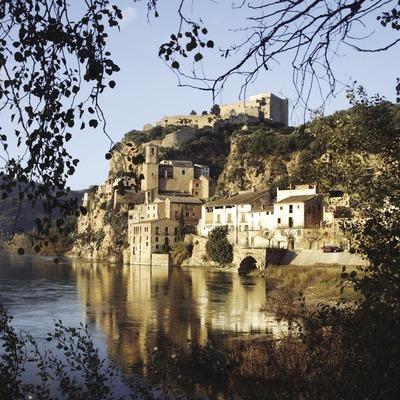 El riu Ebre, el casc antic i el castell  (Miguel Raurich)