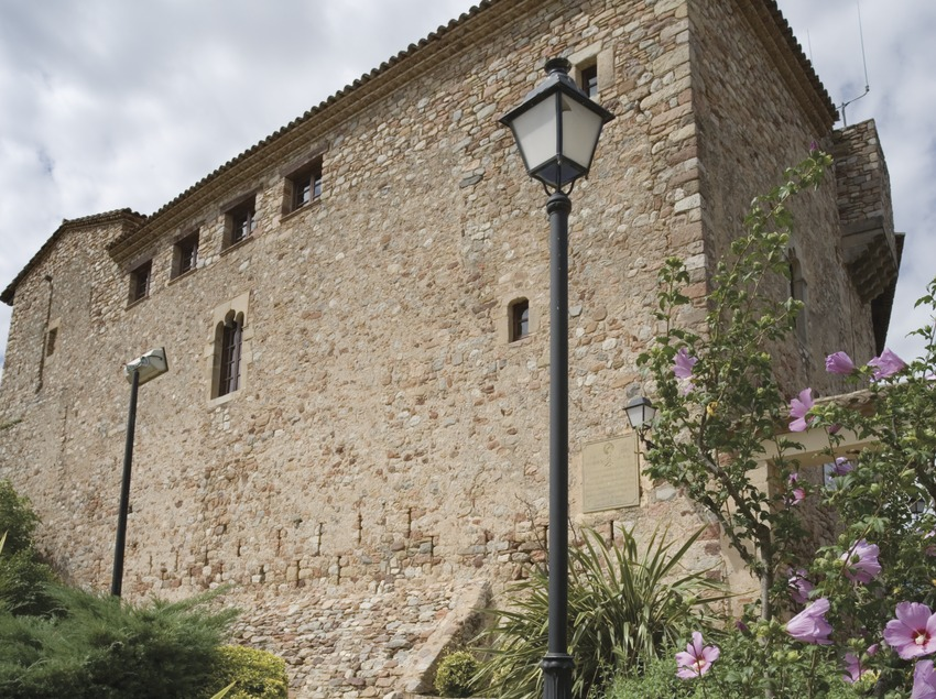 Castell de Plegamans, seu de la Fundació Folch i Torres (Nano Cañas)
