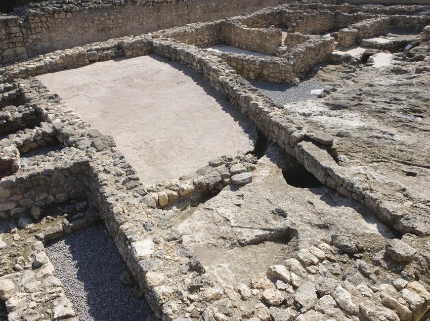 Yacimiento arqueológico. Museo de Arqueología de Catalunya-Olèrdola (Nano Cañas)