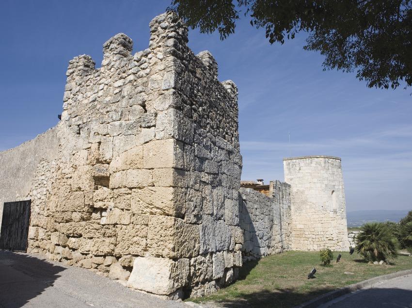 Torre del castillo. Museo de Arqueología de Catalunya- Olèrdola (Nano Cañas)
