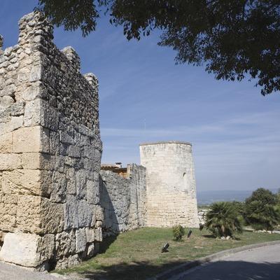 Torre del castell. Museu d'Arqueologia de Catalunya- Olèrdola (Nano Cañas)