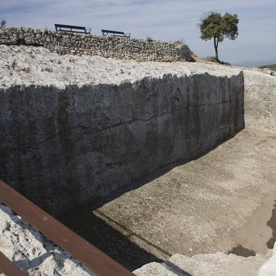 Cisterna. Museu d'Arqueologia de Catalunya- Olèrdola (Nano Cañas)
