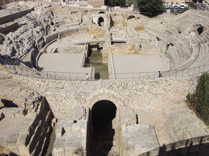Anfiteatro romano.  (Nano Cañas)