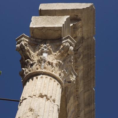 Restos del Foro romano.  (Nano Cañas)