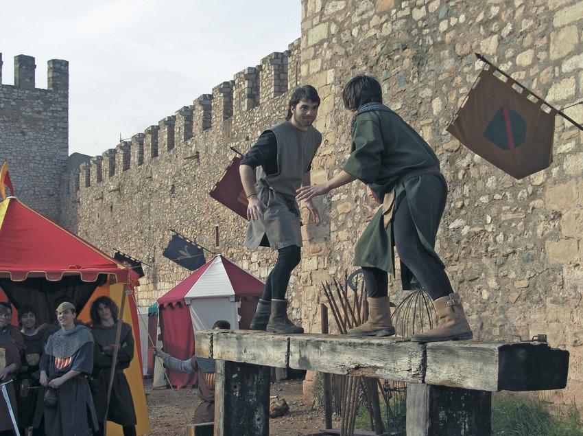 Concurs de joglars a la Setmana medieval  (Servicios Editoriales Georama)