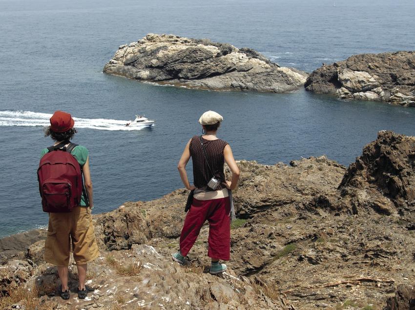 Ausflügler im Nationalpark Cap de Creus