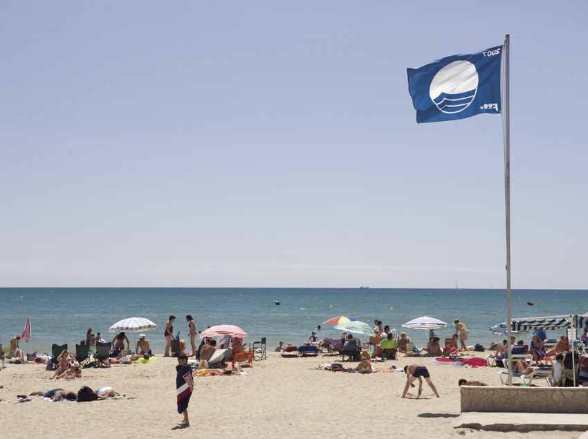 Playa de la localidad.