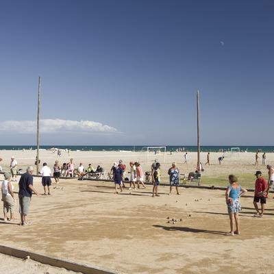 Playa de Segur de Calafell.  (Nano Cañas)