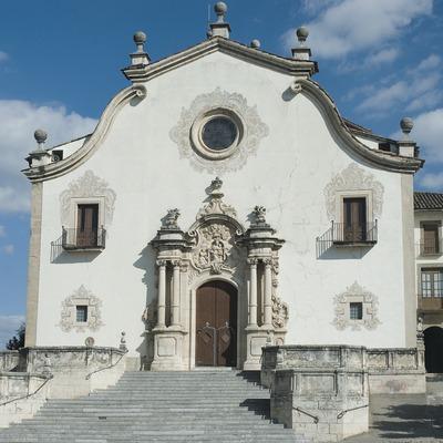 Façade of the Sanctuary of Nostra Senyora de la Gleva  (Servicios Editoriales Georama)