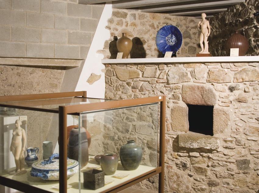 Sala del Museu Municipal, a la Casa Falguera  (Servicios Editoriales Georama)