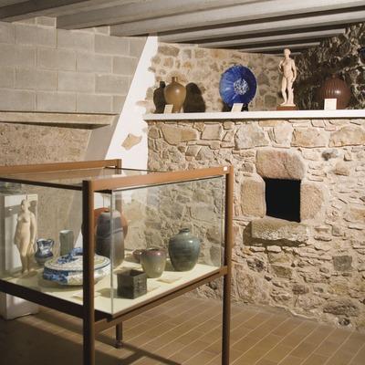 Sala del Museo Municipal, en la Casa Falguera  (Servicios Editoriales Georama)
