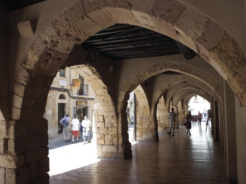 Vaults in Merceria street.  (Nano Cañas)