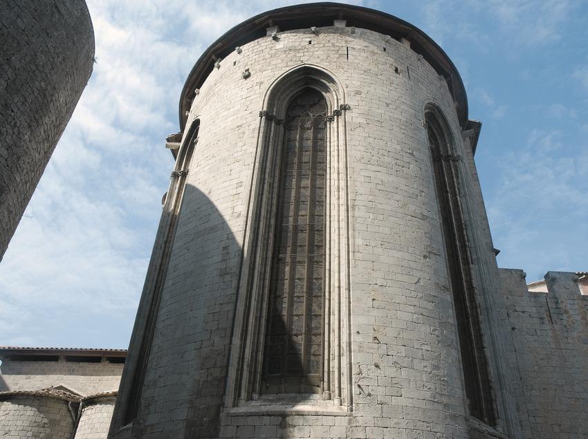 Ábside de la iglesia de Sant Feliu  (Servicios Editoriales Georama)