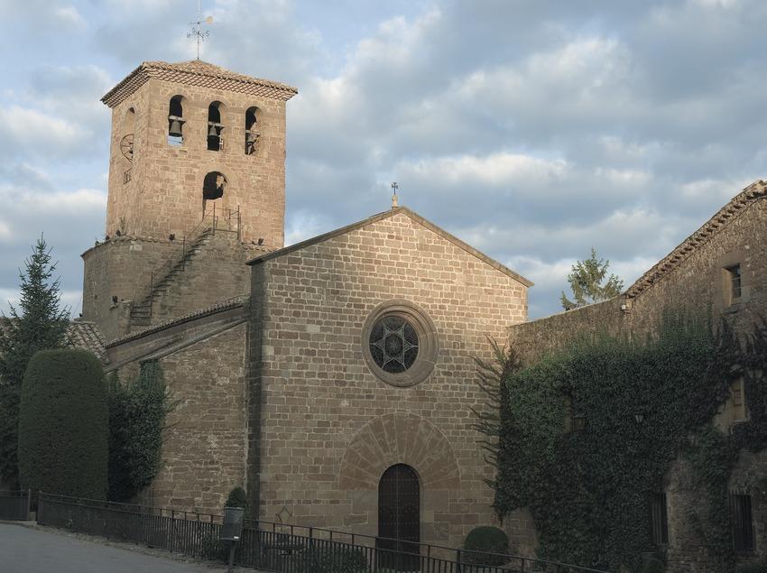 Iglesia del monasterio de Santa Maria de l'Estany  (Servicios Editoriales Georama)