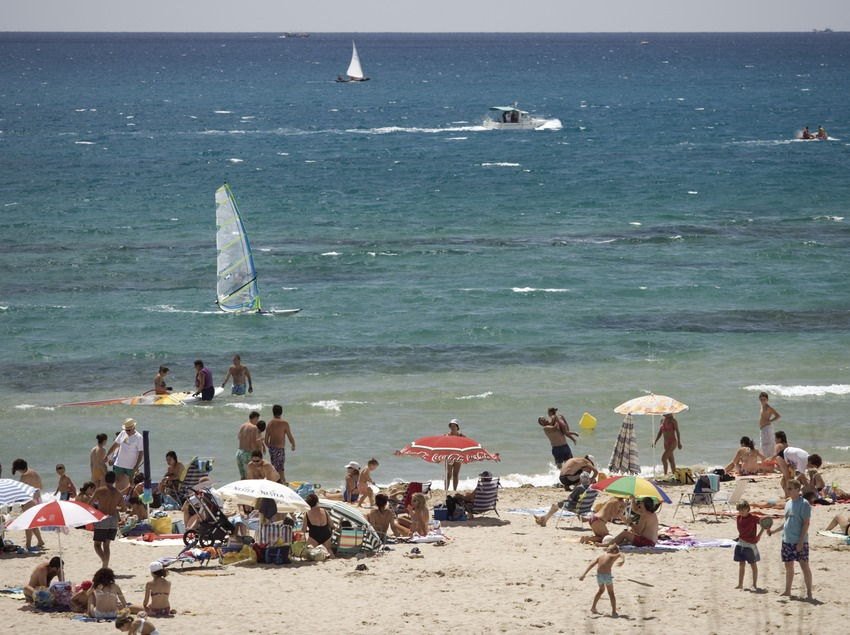 Playa de la localidad
