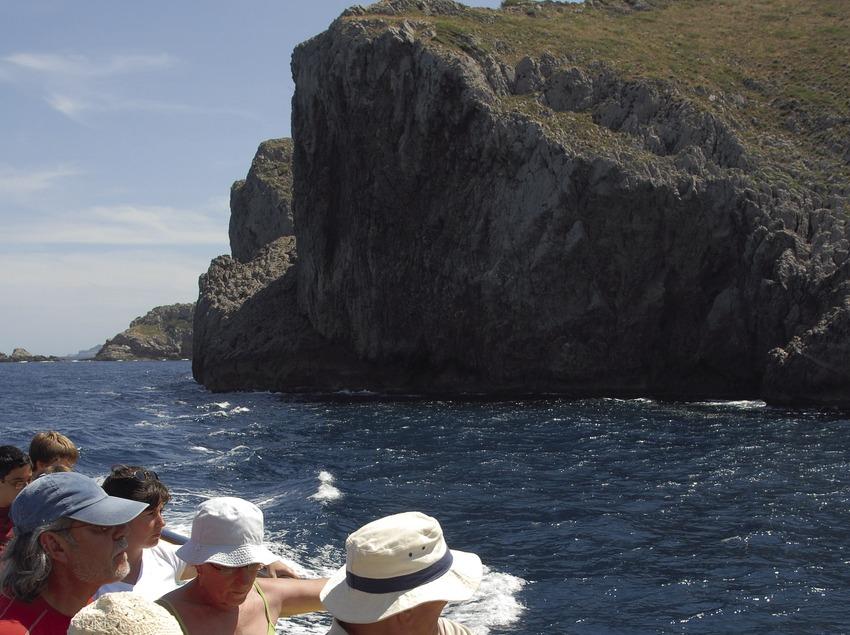 Vue sur la réserve marine des îles Medes.  (José Luis Rodríguez)
