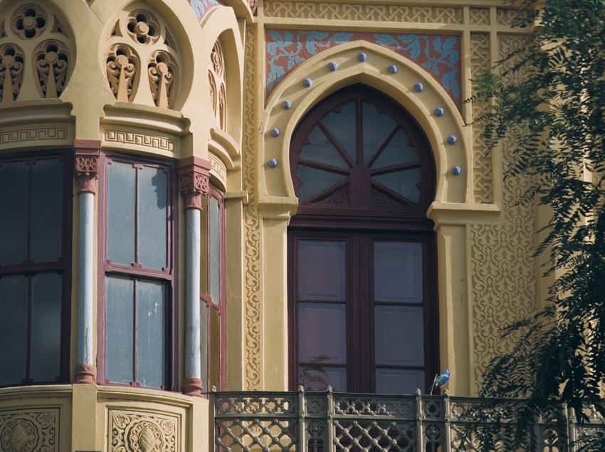 Detall de la façana del Nou Casino de la Constància  (Servicios Editoriales Georama)