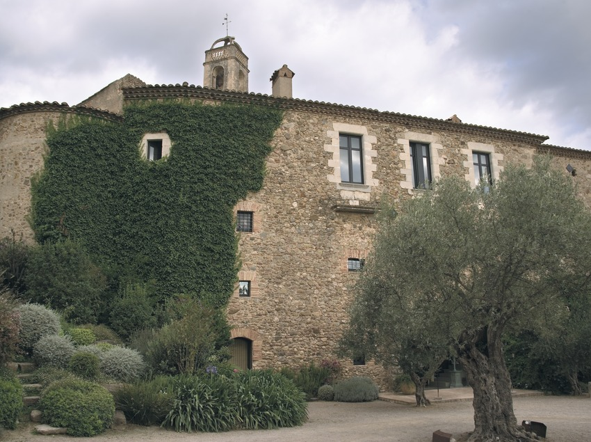 Vue de l'arrière du château, ancien palais épiscopal
